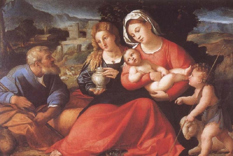 Holy Family with St. John and Mary Magdalene