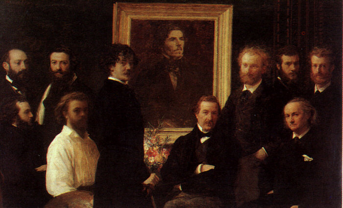 Hommage to Delacroix