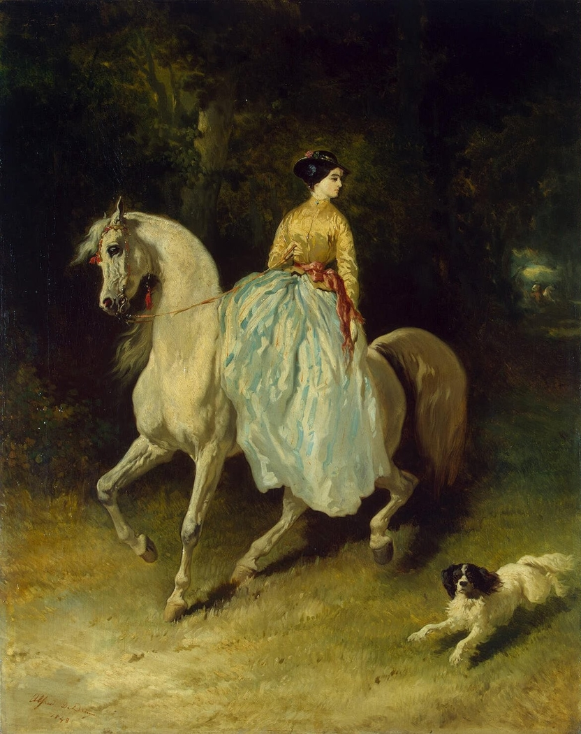 Horsewoman (Amazon)
