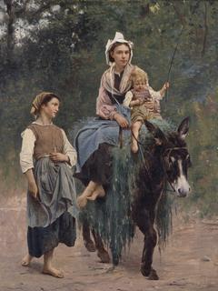Italian Peasant Family