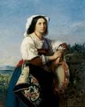 Italian Tambourine Player