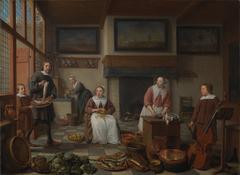 Jacob Bierens en zijn familie