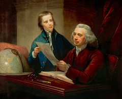 James Russell, d. 1773. Professor of Natural Philosophy at Edinburgh) University (With his son James Russell, 1754 - 1836. President of the Royal College of Surgeons of Edinburgh)