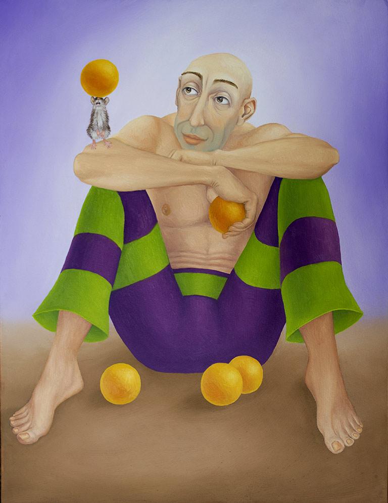 Janek the Juggler (pronounced Yahneck)