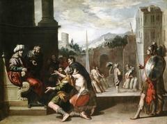 Joseph orders Simeon's Imprisonment