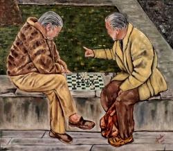 Jugadores de Ajedrez en la Ciudad de México / Chess Players