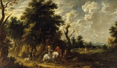 Landscape with a Hunting Party
