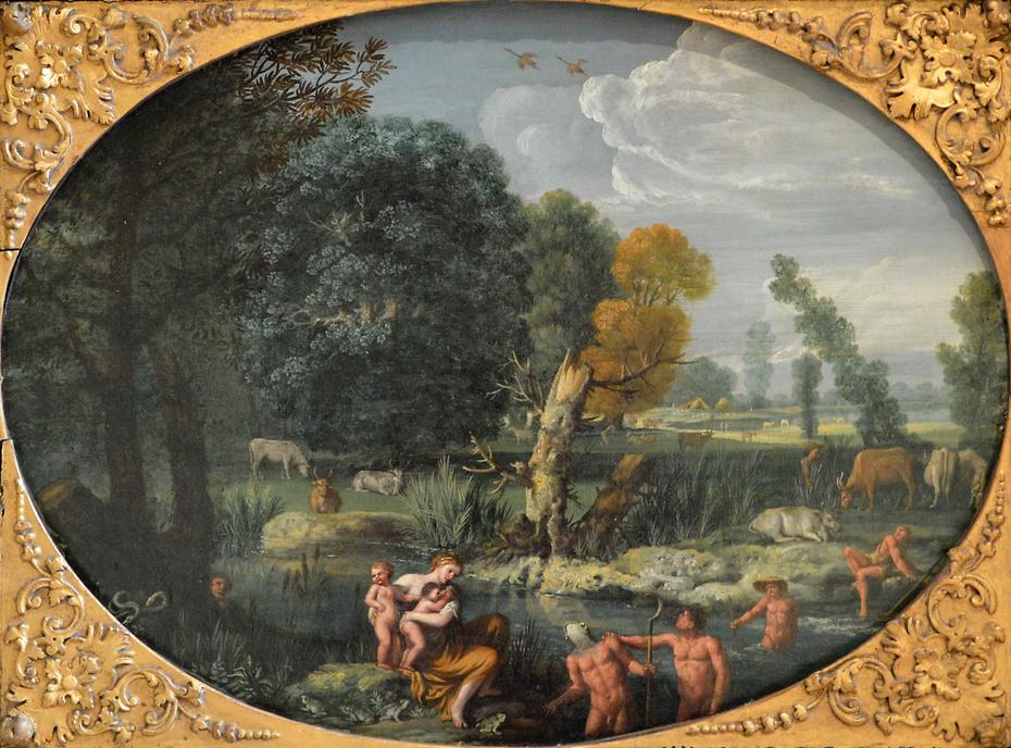 Latona Transforming the Lycian Peasants into Frogs
