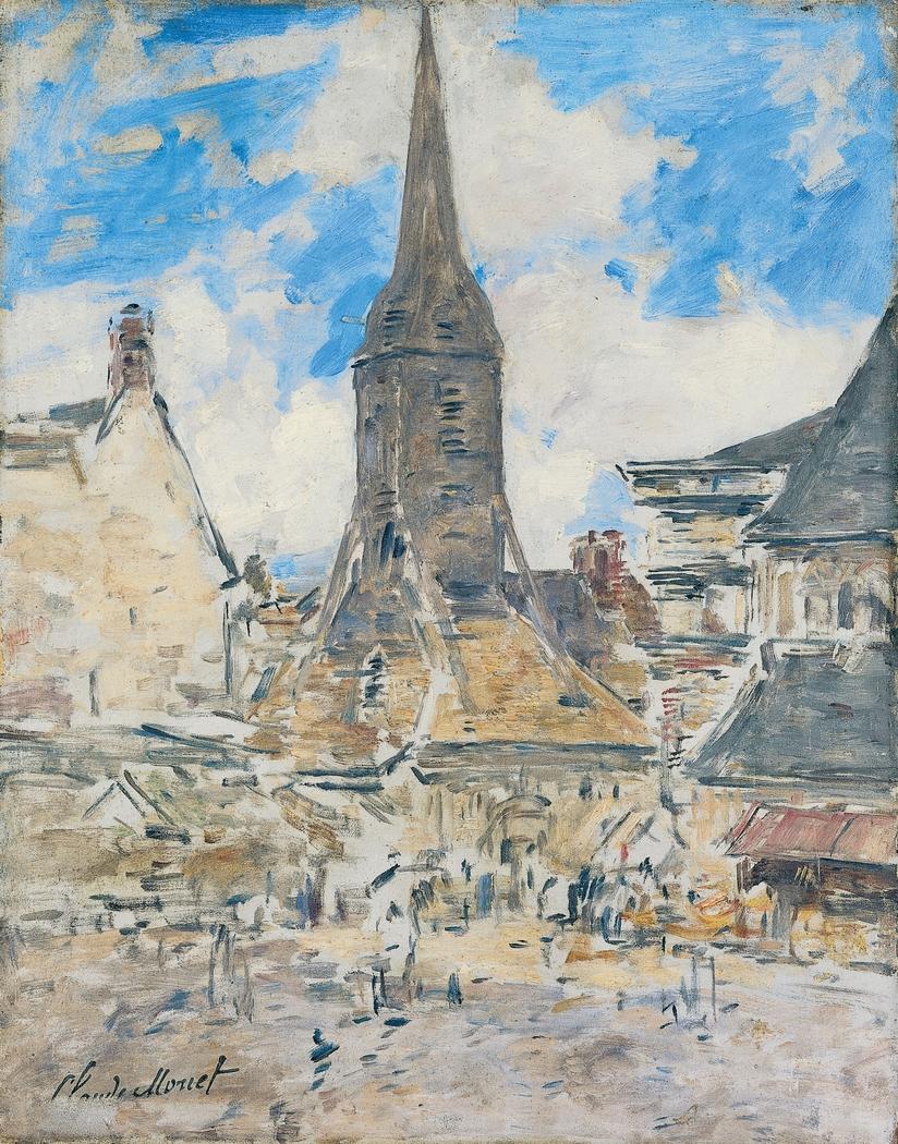 Le Clocher de Sainte-Catherine, Honfleur