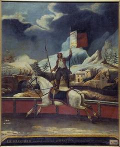 """Le """"Faucheur polonais"""", au théatre du Cirque-Olympique."""