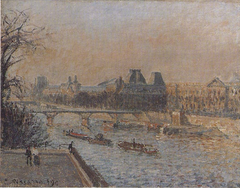 Le Louvre, soleil couchant, 3e série