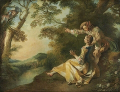 Lovers in a Landscape