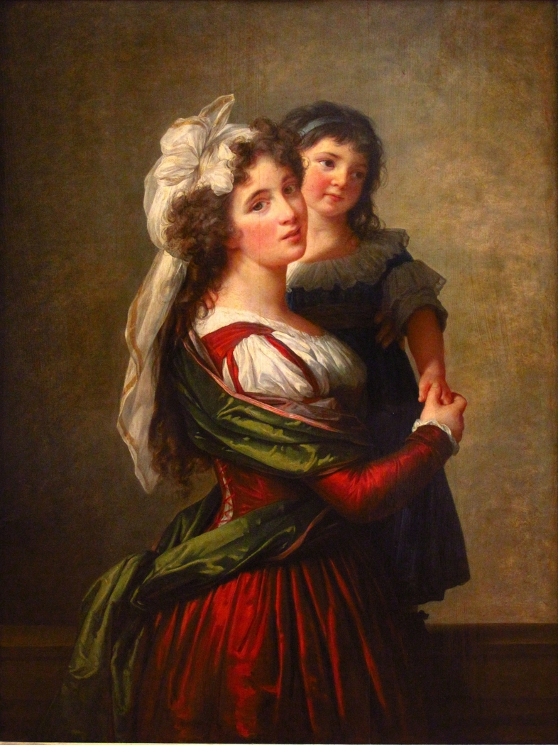 Madame Rousseau and her Daughter