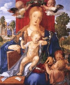 Madonna with the Siskin by Dürer
