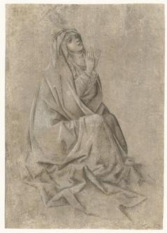 Maria aan de voet van het kruis