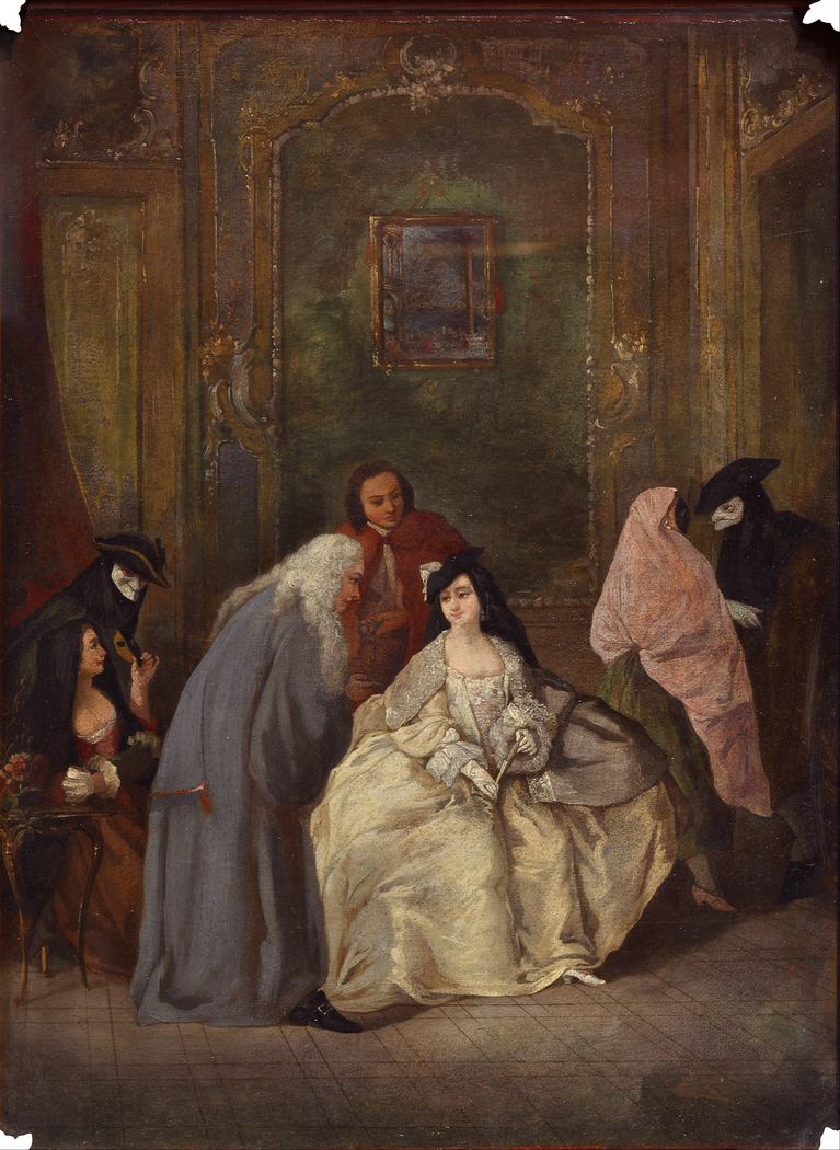 Meeting of the Prosecutor and his Wife
