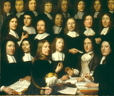 Mint masters of the Mint of Holland in Dordrecht