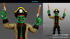 Misterf Pirate Character Animation