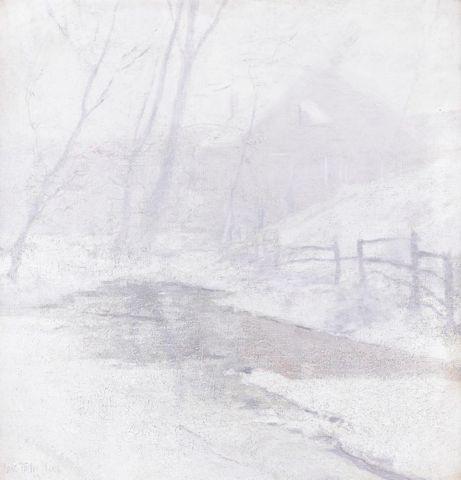 Misty Day in Winter