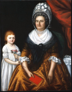 Mrs. John Moale (Ellin North) and Her Granddaughter, Ellin North Moale