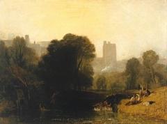 Near the Thames' Lock, Windsor