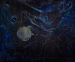 Night Landscape / moon