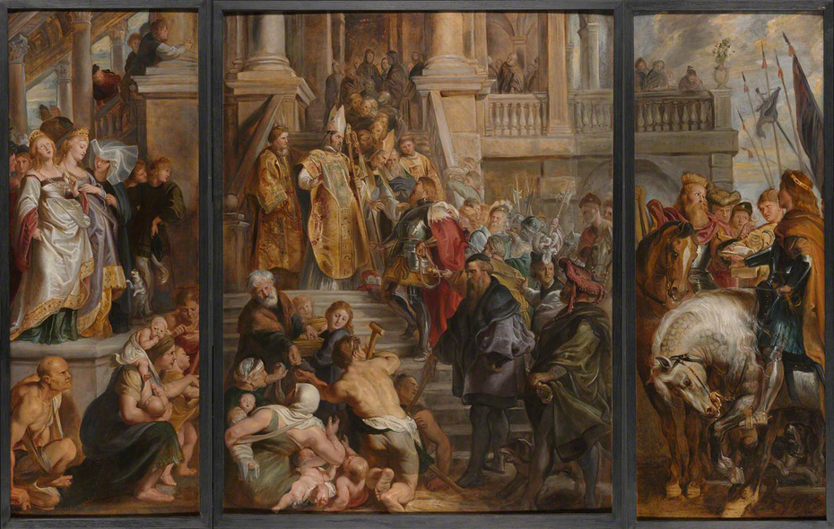 Image result for peter paul rubens' st. bavo images