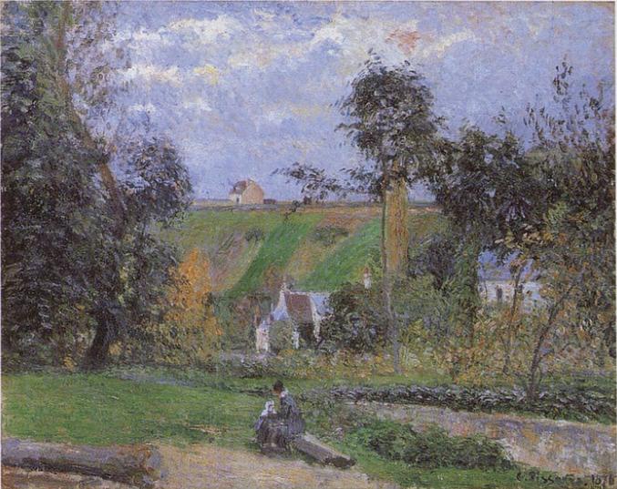 On the Bank of the ravine de Saint-Antoine, L'Hermitage, Pontoise