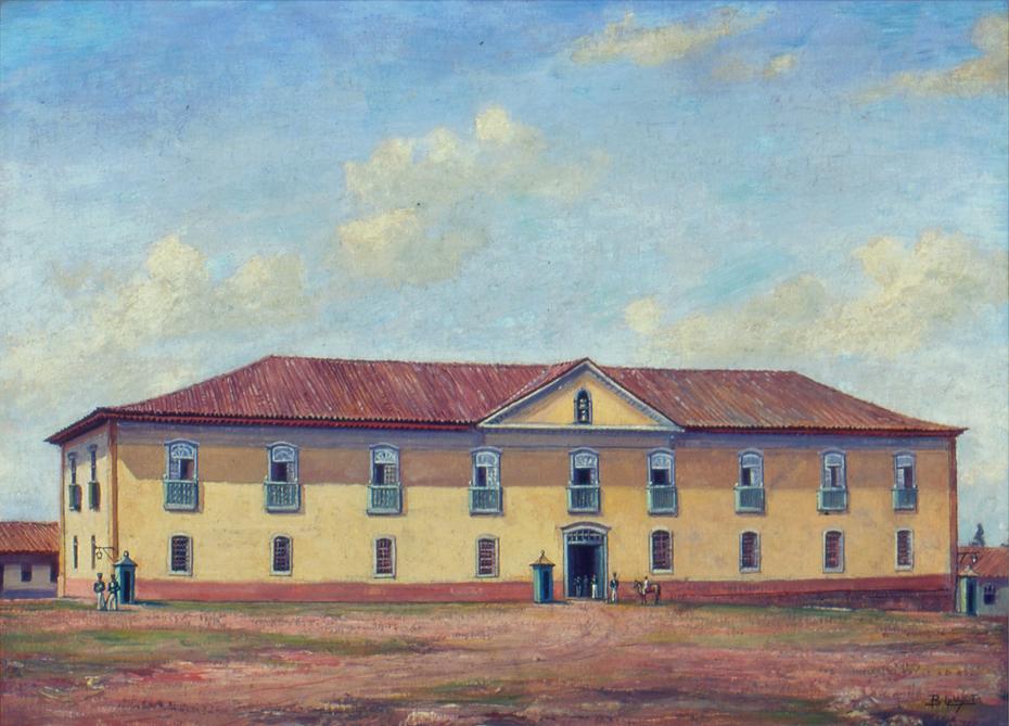Paço Municipal, Fórum e Cadeia de São Paulo, 1862