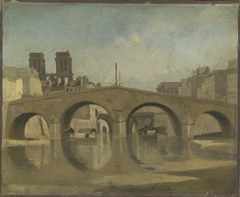 Paris, le Vieux Pont Saint-Michel