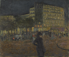 Place Pigalle atNight