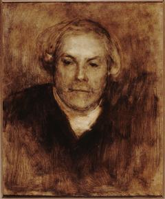 Portrait d'Edmond de Goncourt (1822-1896), écrivain