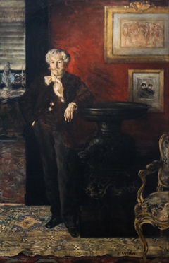 Portrait d'Edmond de Goncourt