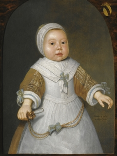 Portrait of a girl from the Van der Burch family
