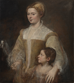 Portrait of a Lady and her Daughter