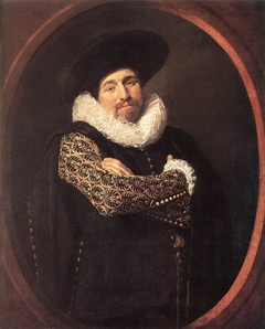 Portrait of a man, possibly Isaac Massa