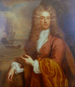 Portrait of a naval officer, circa 1700