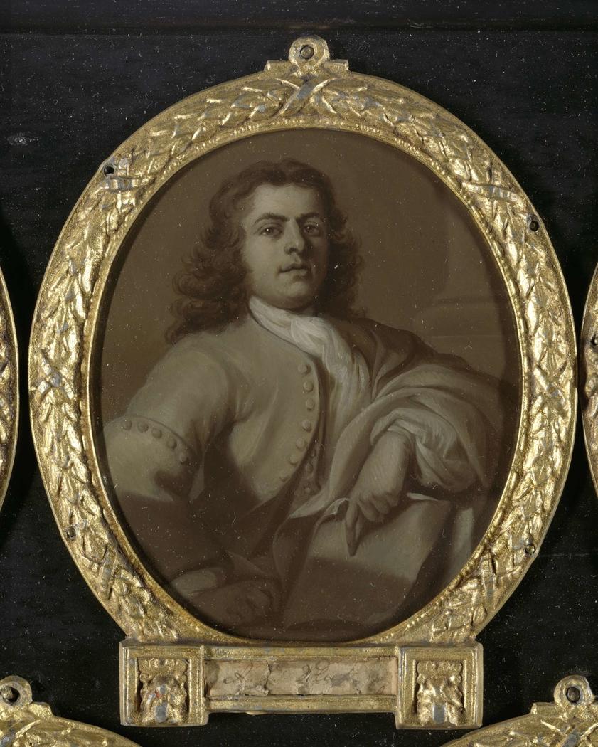 Portrait of Adriaan van der Vliet, Poet in Rotterdam