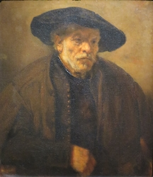 Portrait of an Old Man with Beret