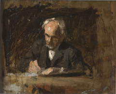 Portrait of Benjamin Eakins (Sketch for The Writing Master)