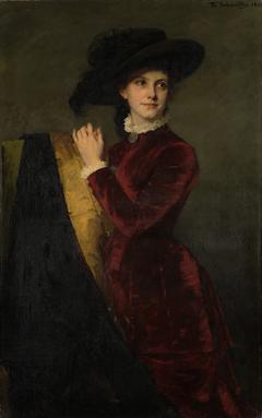 Portrait of Catharina Josephina den Tex-Biben (1858-1889)