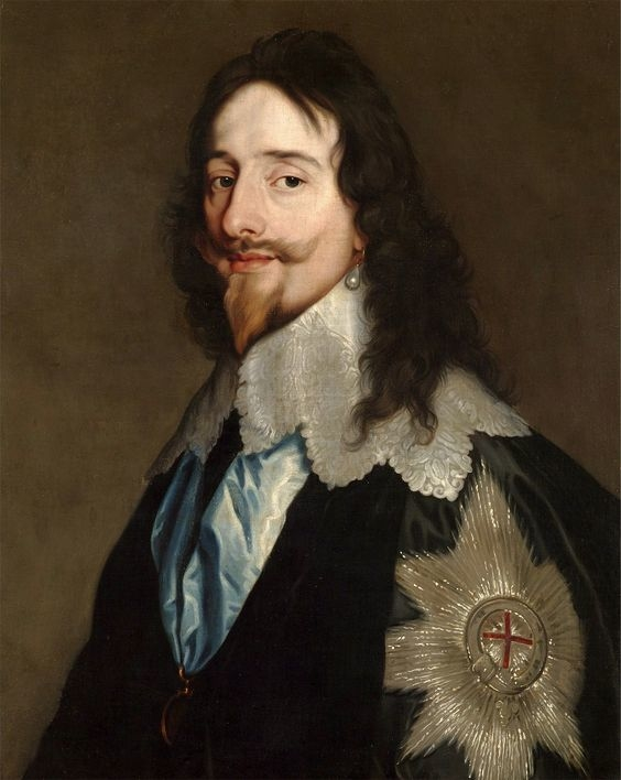 Portrait of Charles I Stuart
