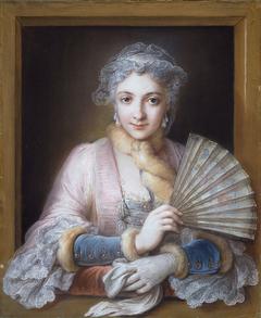 Portrait of Charlotte Philippine de Châtre du Cangé, Marquise de Lamure