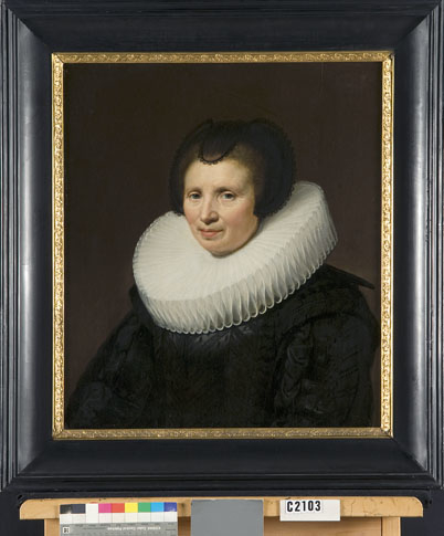 Portrait of Cornelia ten Haeff (d.1661), wife of Abraham de Brauw