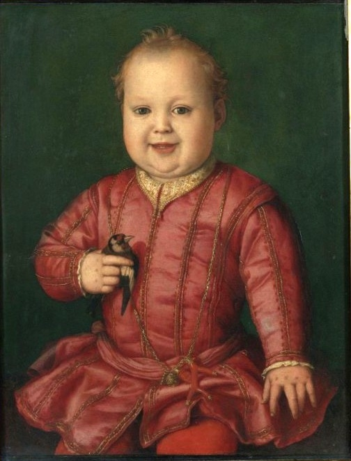 Portrait of Giovanni de' Medici as a Child