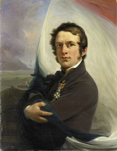 Portrait of Jacob Hobein, Rescued the Dutch Flag under Enemy Fire, 18 March 1831