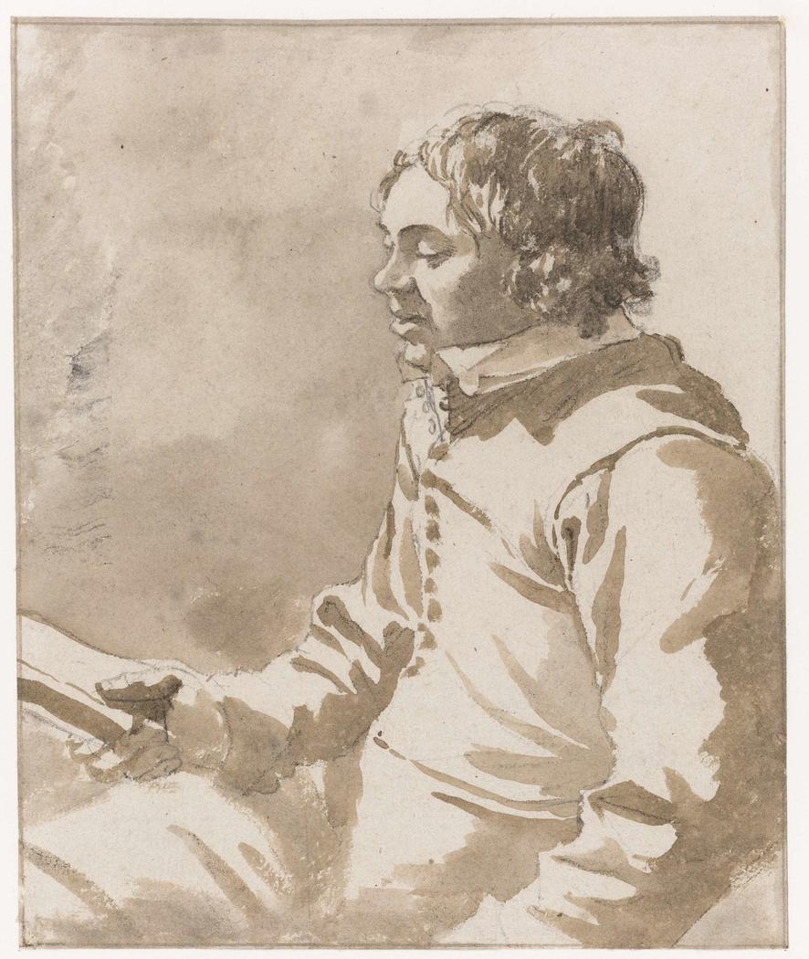 Portrait of Jacobus van Ewijk Reading a Book