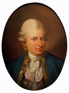 Portrait of Johan Frederik Struensee