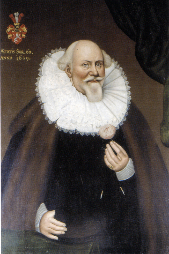 Portrait of Johann Kampferbeke (1580-1639), Mayor of Lübeck