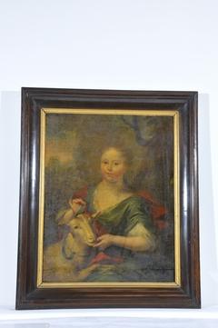 Portrait of Johanna Margaretha de Heer